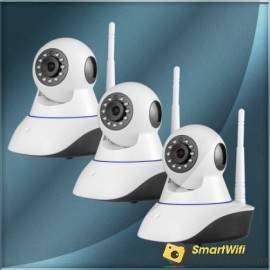 720p wifi camera home security alarm system